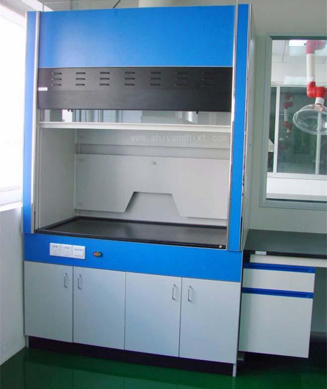 全木通风柜台面采用12.7mm厚度实芯理化板