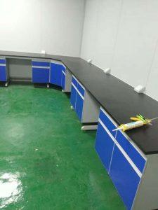 实验台安装现场