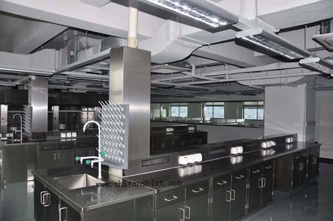 实验室不锈钢实验台安装布置
