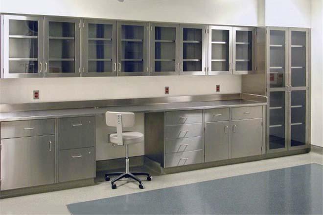 不锈钢实验台柜体结构