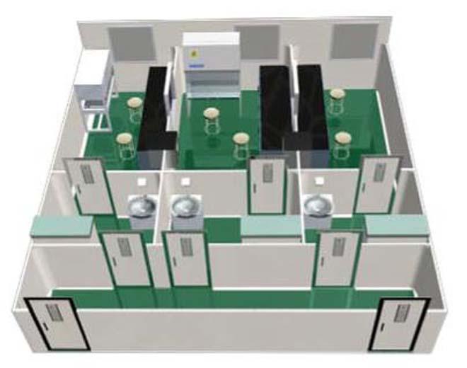 实验室家具工程设计图
